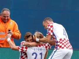 La Croatie obtient son billet pour le Mondial de Russie. GOAL