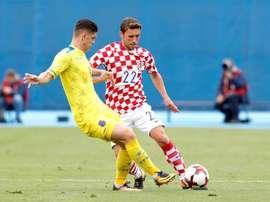 RAshica está en el punto de mira de la Lazio. EFE/EPA/AntonioBat
