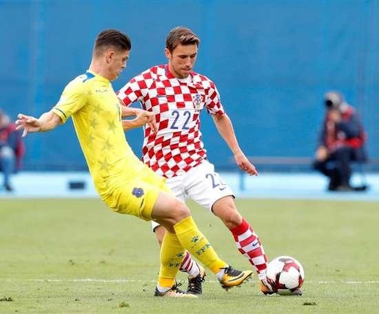 Liverpool, sur le point d'enrôler le meilleur joueur du Kosovo. EFE