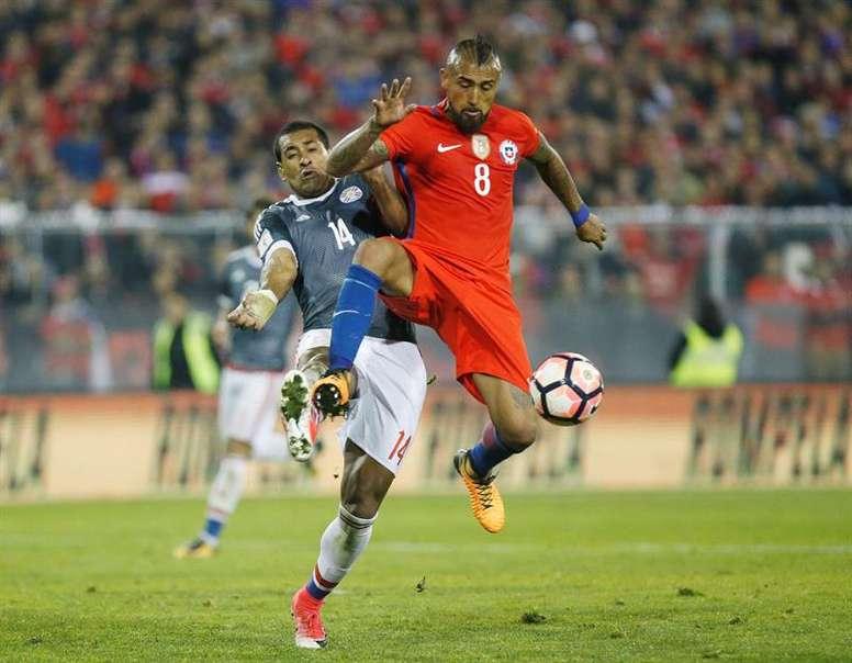 Paulo Da Silva habló del partido ante Uruguay. EFE