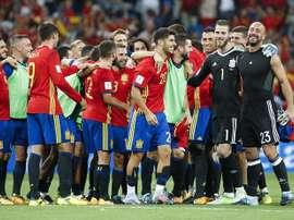 España se mide esta noche a Liechtenstein. EFE