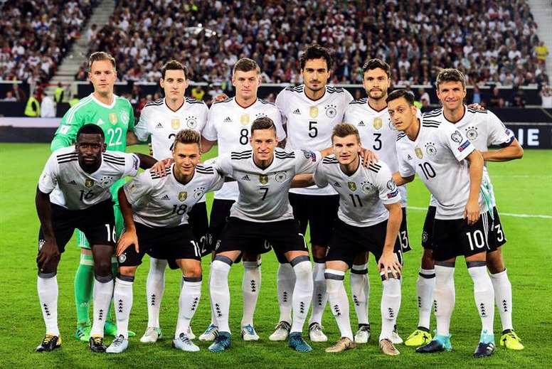 Alemania se dio un festín ante Noruega. EFE