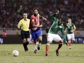 Reparto de puntos entre Costa Rica y México. EFE