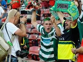 El Sporting ya es cuarto. EFE