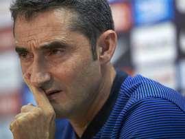 Valverde has one eye on the future. EFE