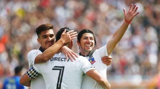Colo Colo pelea con Universidad de Chile y Unión Española por el título. EFE/Archivo