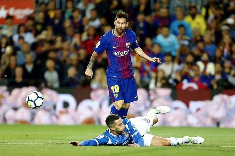 Le Barça et l'Espanyol en quart. EFE
