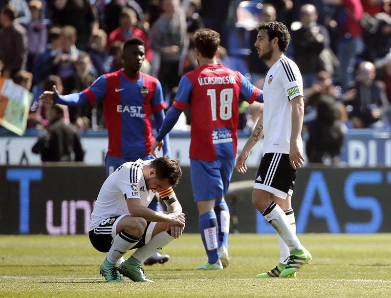 Valencia se impuso en casa a Levante por la Liga — Lavó heridas