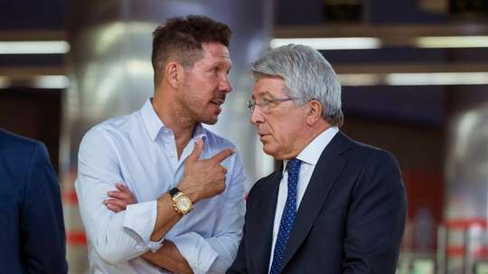 Cerezo fully defended Simeone. EFE