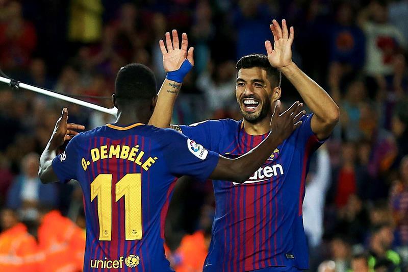 Barcelona: Luis Suárez le pidió a Dembélé que sea más responsable