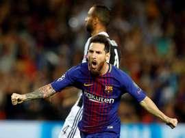 Fayçal Fajr piensa en un Barça sin Messi. EFE