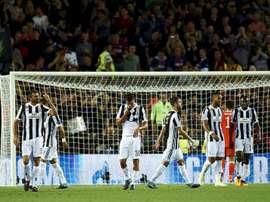La Juve luchara con el Liverpool por hacerse con un joven talento. EFE