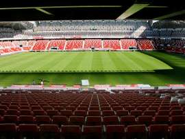 El Molinon in Gijon, where the game was played. EFE