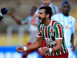 Ninguém marca mais que o 'Degolador', na liga brasileira. EFE/Archivo