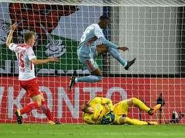 Leipzig hold Monaco on Champions League debut. EFE