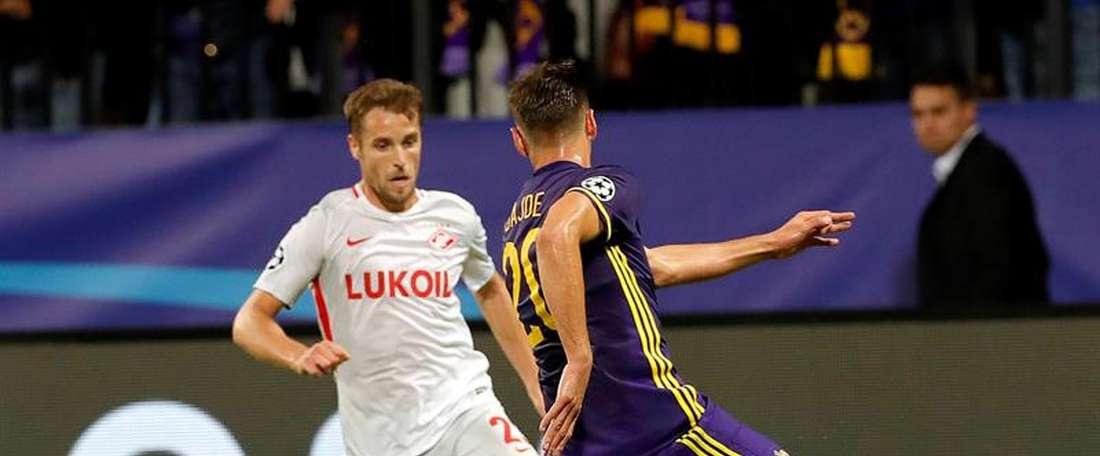 Maribor e Spartak empatam na Eslovénia. EFE