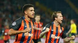 Taison se quejó por no poder fichar por el Milan. EFE