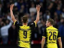 Yarmolenko devrait quitter l'Allemagne pour l'Angleterre. AFP