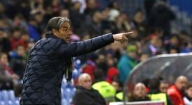 El técnico del Zaragoza asegura que sacar un buen resultado será determinante. EFE