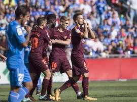Denis Suárez perdeu importância na equipe do Barça. EFE