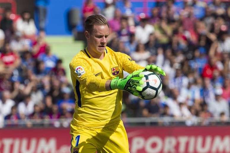 Ter Stegen pense que le FC Barcelone aurait pu remporter la victoire au Wanda Metropolitano. EFE