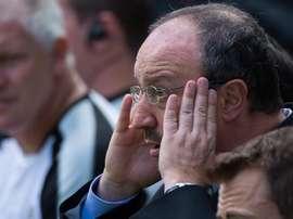 Rafa Benítez ha sumado su segundo empate consecutivo. EFE/EPA/Archivo