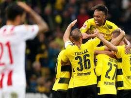 Dortmund imparável na Bundesliga. EFE