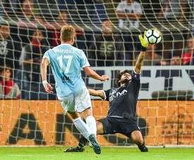 Mais um triunfo para a Lazio na Europa League. EFE/EPA