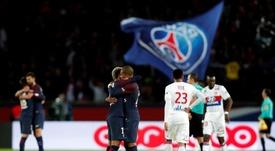 Neymar va rester à Paris. AFP