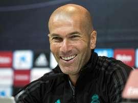 La familia Zidane sigue ampliándose en el fútbol español. EFE/Archivo
