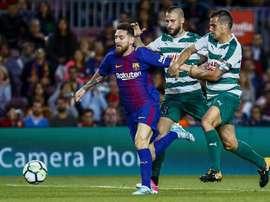 Posibles alineaciones del Barcelona vs Eibar. EFE/Archivo