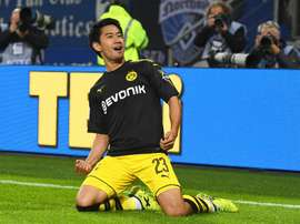 Everton and West Ham are interested in Kagawa. EFE