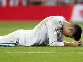 Cristiano Ronaldo n'est pas passé loin d'inscrire un golazo. EFE