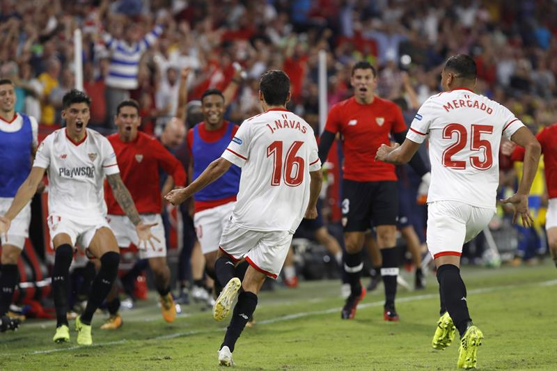 Sevilla derrota a Las Palmas y trepa al quinto puesto