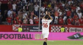 Jesús Navas, sevillista con más victorias en LaLiga. EFE