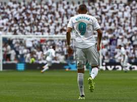 Benzema's numbers certainly don't make good reading for the striker. EFE/Archivo