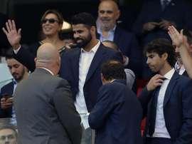 Diego Costa regressa a Madri em janeiro. EFE