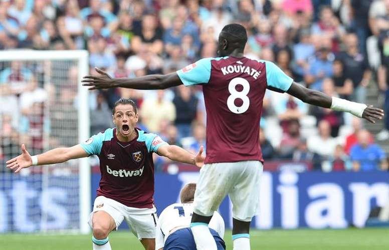 El West Ham ganó con un gol en el descuento al Swansea. EFE/EPA/Archivo