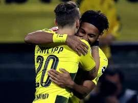 El Borussia goleó al 'Gladbach en casa. EFE