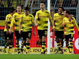 Triunfo sem contestação do Borussia Dortmund. EFE/EPA