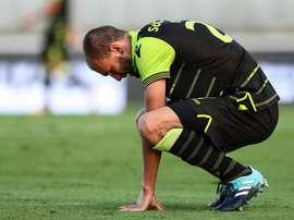El Sporting pinchó justo antes del partido ante el Barcelona en la Champions. EFE