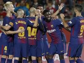 El Barça sigue peinando el mercado. EFE