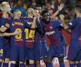 Le Barça a vaincu Gérone. GOAL