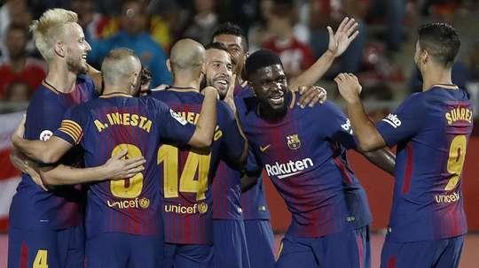 Barça continua atento ao mercado. EFE