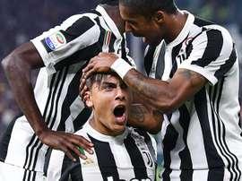 A Juventus recebeu e venceu o SPAL 2013 por 4-1. EFE/EPA