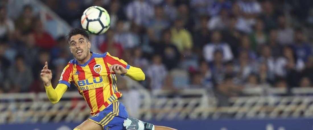 Nacho Vidal et ses coéquipiers pourraient quitter Valence cet hiver. EFE