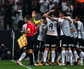 El Corinthians empató a uno contra Sao Paulo. EFE/Archivo