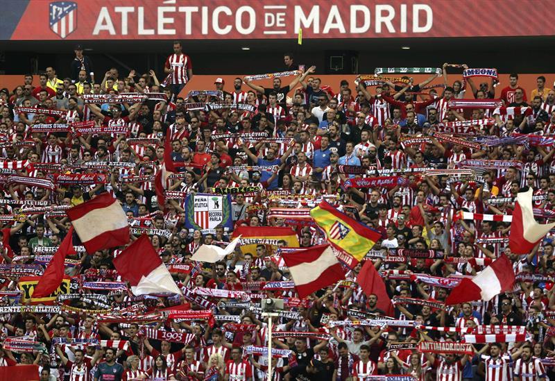Atlético de Madrid aparece con goleada