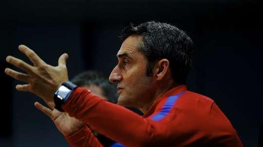 Valverde foi decisivo com as substituições no empate frente ao 'Atleti'. EFE