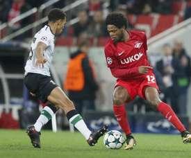 Adriano in action against Liverpool last season. EFE